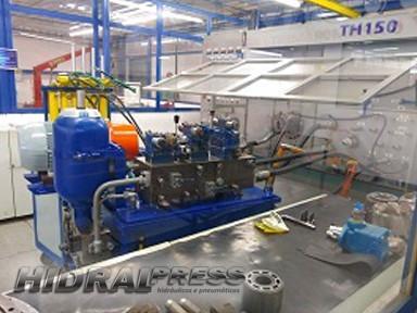 Manutenção em unidades hidraulicas