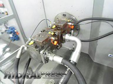Reparo de bomba hidraulica