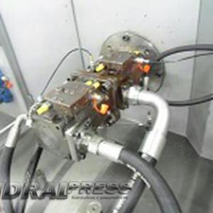 Manutenção de bomba hidráulica
